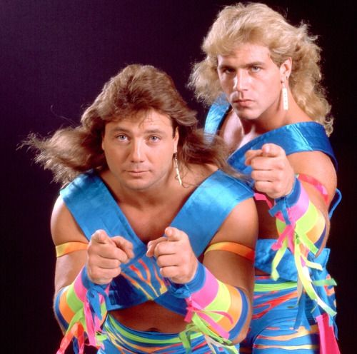 The Rockers - Shawn Michaels and Marty Jannetty | Wwf superstars, Wrestling  superstars, Wrestling