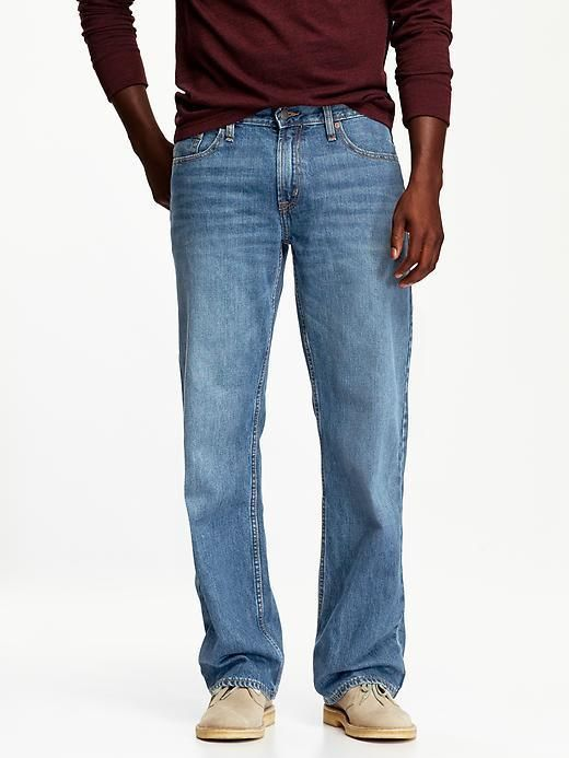 3dc5caf2 Old Navy Loose Jeans for Men | Products | Loose jeans, Loose fit ...