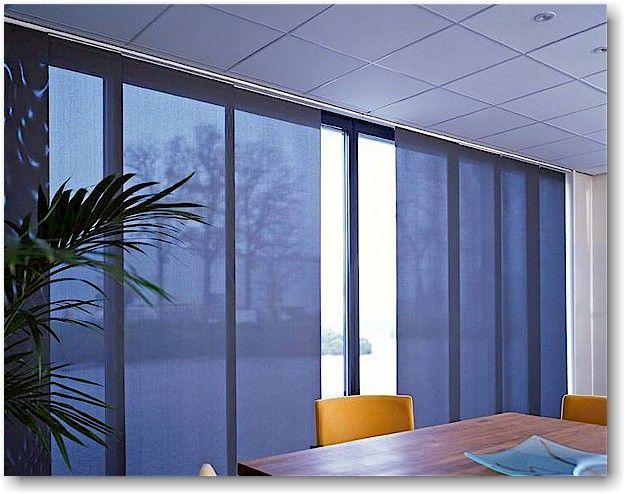 Panel Sliding Blinds Blinds Solarshieldfilm Panel Curtains