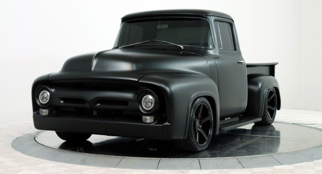 This Custom Ford F-100 Rocks The Voodoo V8 Of A Mustang GT350 | CAR247.CO