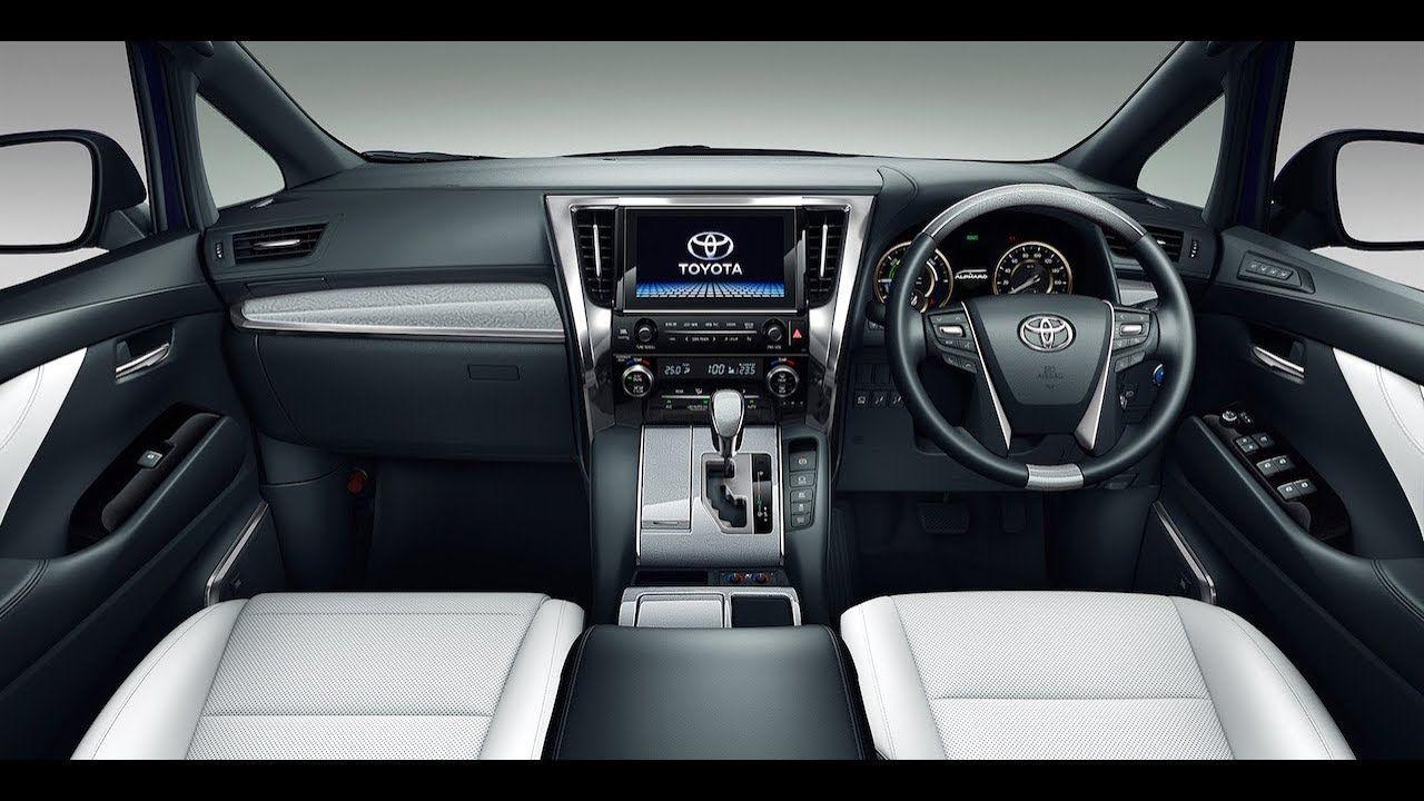All New Luxurious 2018 Toyota Alphard And 2018 Toyota Velfire Leak Toyota Alphard Mini Van Toyota