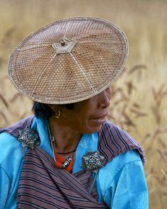Woman in the Bumthang Valley - Bhutan