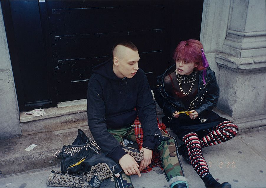 Collection Online | Nikki S. Lee. The Punk Project (#6). 1997 - Guggenheim Museum
