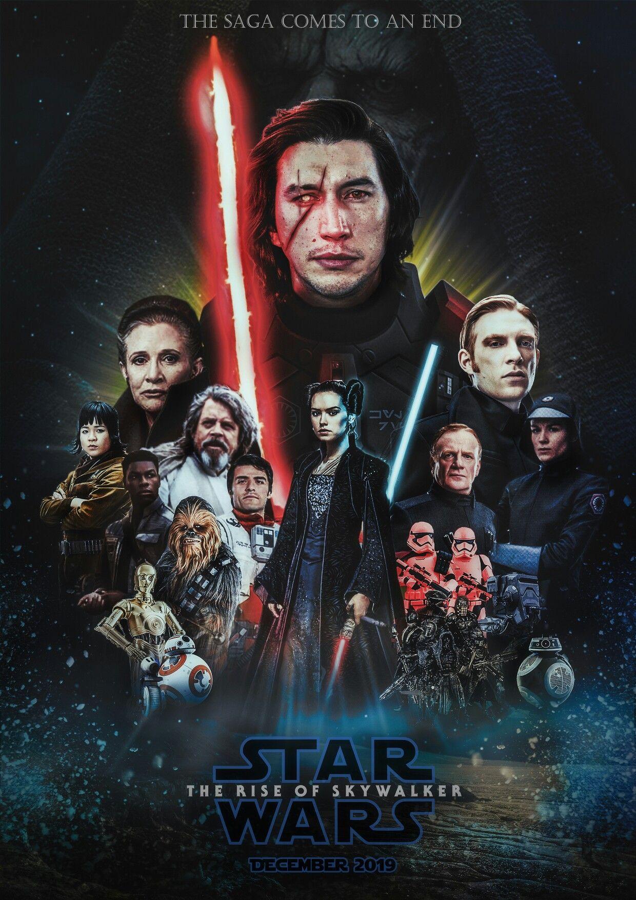 Episode Ix Poster Starwars Episodeix Kyloren Rey Emperorpalpatine End December 2019 Theriseofskywalker Skywalke Emperor Palpatine Star Wars Skywalker