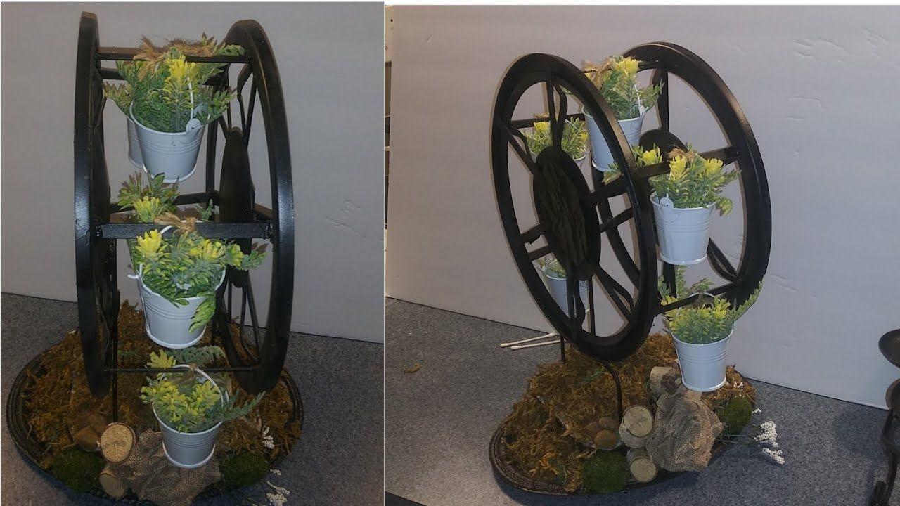 Diy dollar tree mothers day gift farmhouse ferris wheel