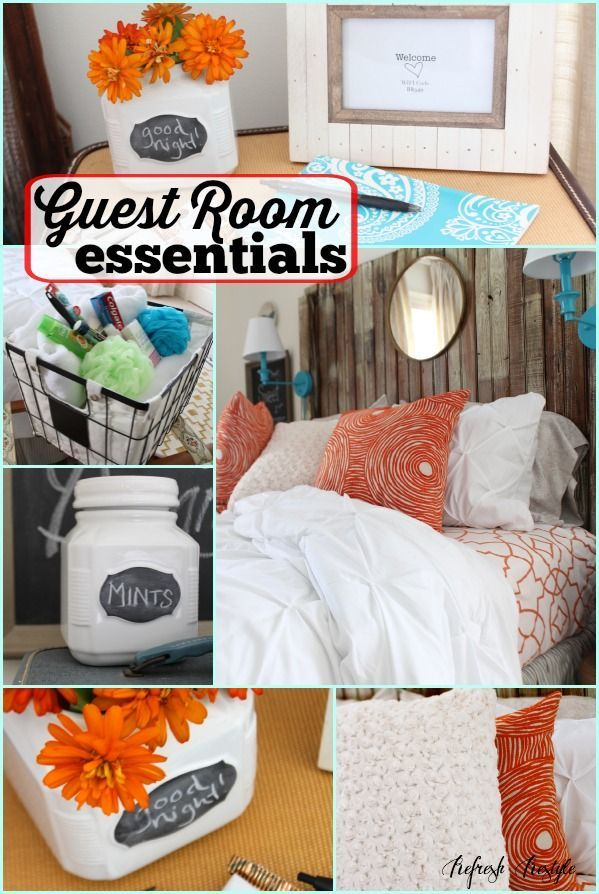 Guest Room Essentials Bloggers Best Diy Ideas Guest Room
