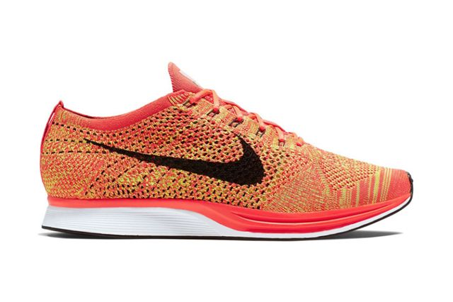 reputable site 9c5d2 cf447 Nike Flyknit Racer Bright Crimson Volt  In addition to a very recent and  rather sizable Nike Flyknit Racer release, the sportswear giant
