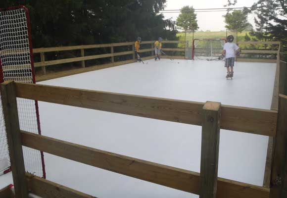 Super Glide® Ultra Remember For Later On In Life. Synthetic Ice Skating Rink