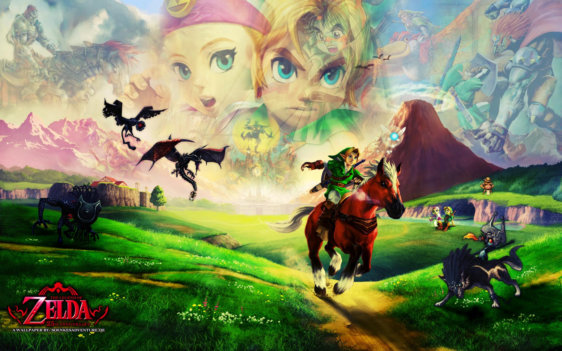 Legend Of Zelda Ocarina Of Time Wallpapers For Android For Desktop Wallpaper 1080p