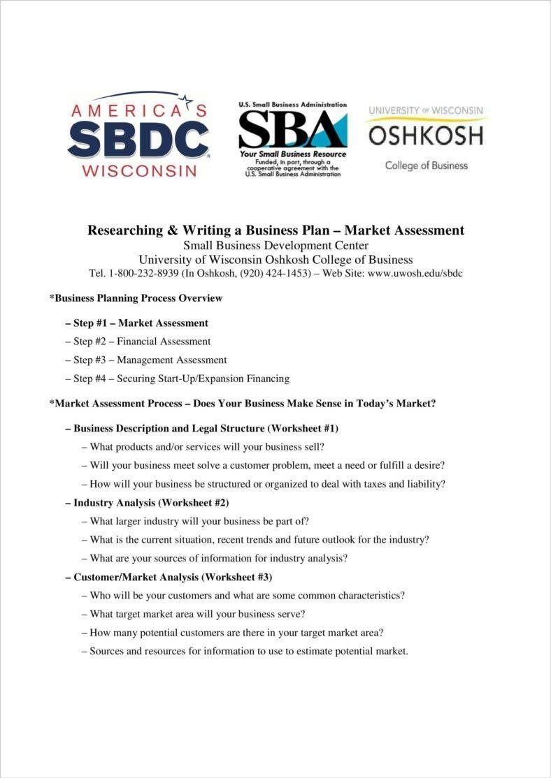 8 Opportunity Assessment Templates Pdf Doc En 2020