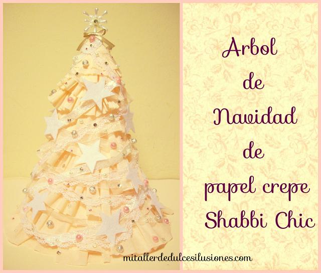 Un origianl árbol de Navidad de papel crepé | Ilusiones, Árboles de ...