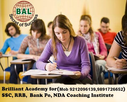 Brilliant Academy of Learning is one of the renowned SSC Coaching Institutes in Delhi.Scientifically designed quality study material based on actual SSC exam pattern & regularly updated by Aim and achieve team to give the best learning experience & result.http://www.brilliantacademyoflearning.com/ssc-coaching-in-delhi.html