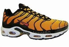 online retailer 49b56 7ad3b Nike Air Max Plus Orange Black (604133-886) Size 7.5