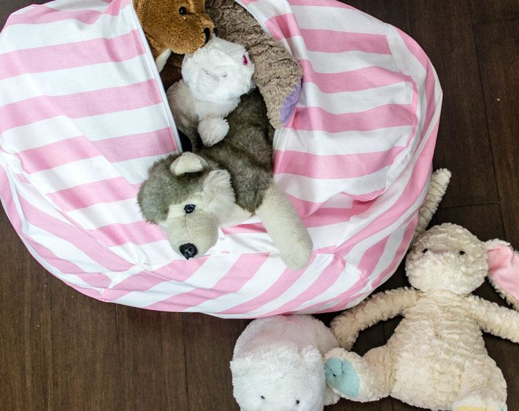 Bean Bag Chair Pattern With Toy Storage Part 2 Bags