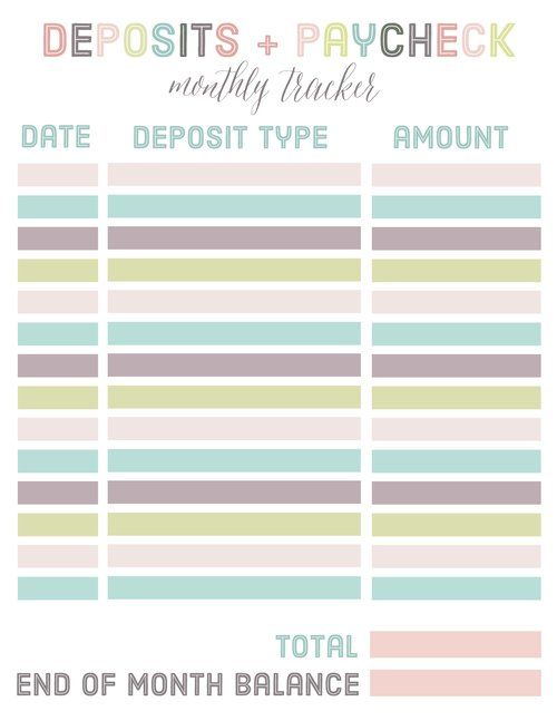 Free Budgeting and Finance Binder Printables Printables