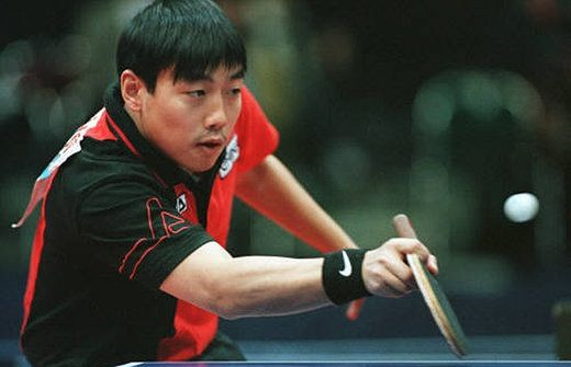 Liu Guoliang China Tabletennis Legend Table Tennis Sports China