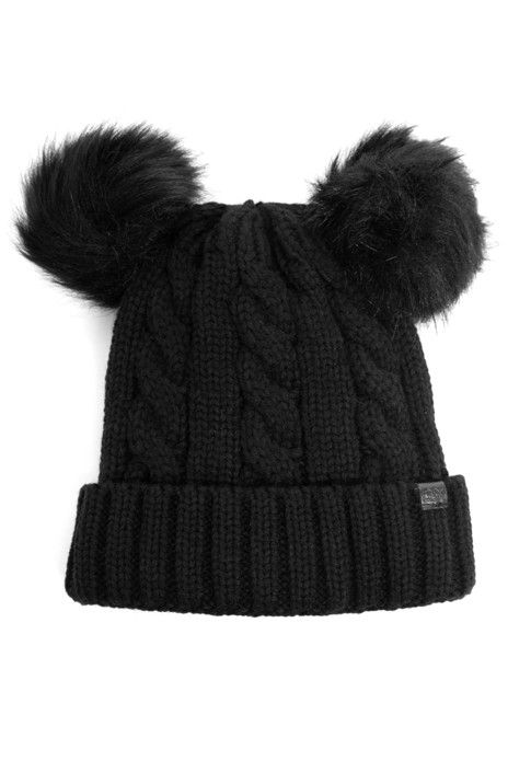 841279355 FINAL SALE - Playful Double Pom Beanie in 2019 | Products | Beanie ...