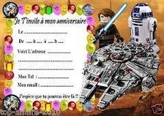Carte Invitation Anniversaire Garcon