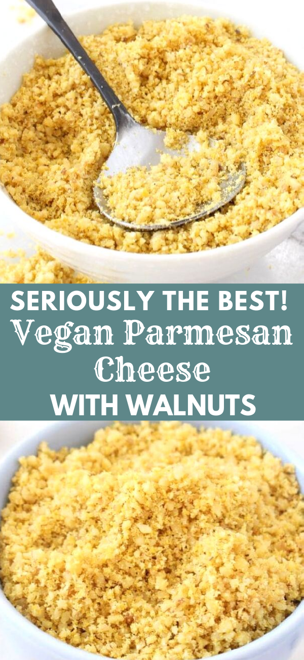 Best Vegan Parmesan Cheese Recipe with Walnuts #walnutsnutrition