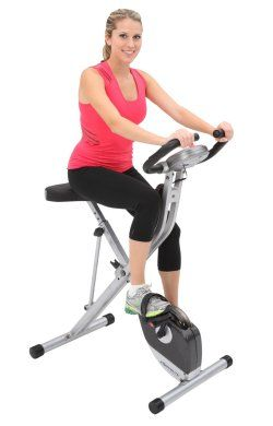 Exerpeutic Folding Magnetic Upright Bike Review Best Upright Exercise Bike Best Upright Exercise Bike Biking Workout Best Exercise Bike