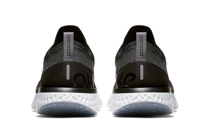 51c767ae Nike Drops Epic React in Minimal Black Colorway | sneakers