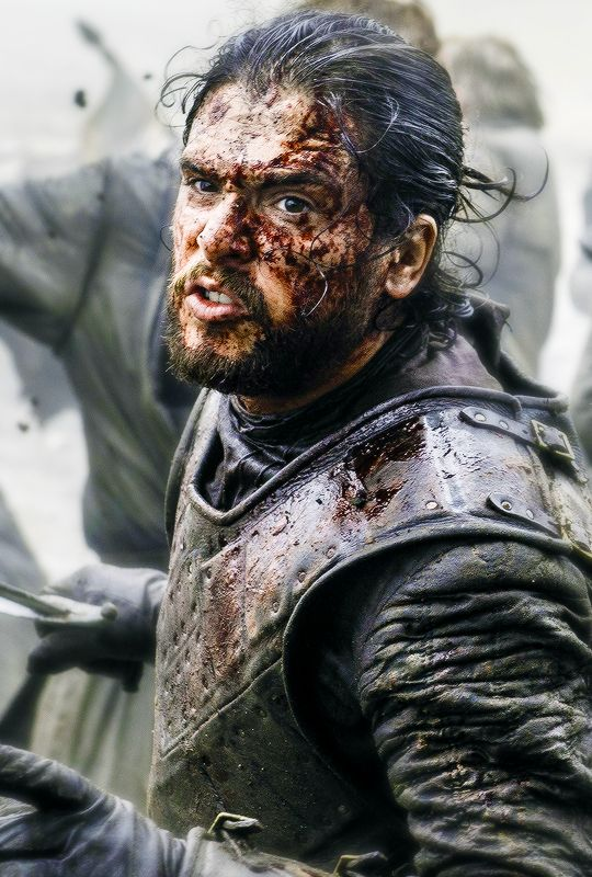 A Battered But Not Beaten Jon Snow 6x9 Jon Snow Game Of Throne Actors King In The North