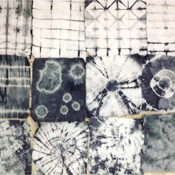 Stoffe färben mit Textilfarbe: Batik und Shibori | Stoff färben ...