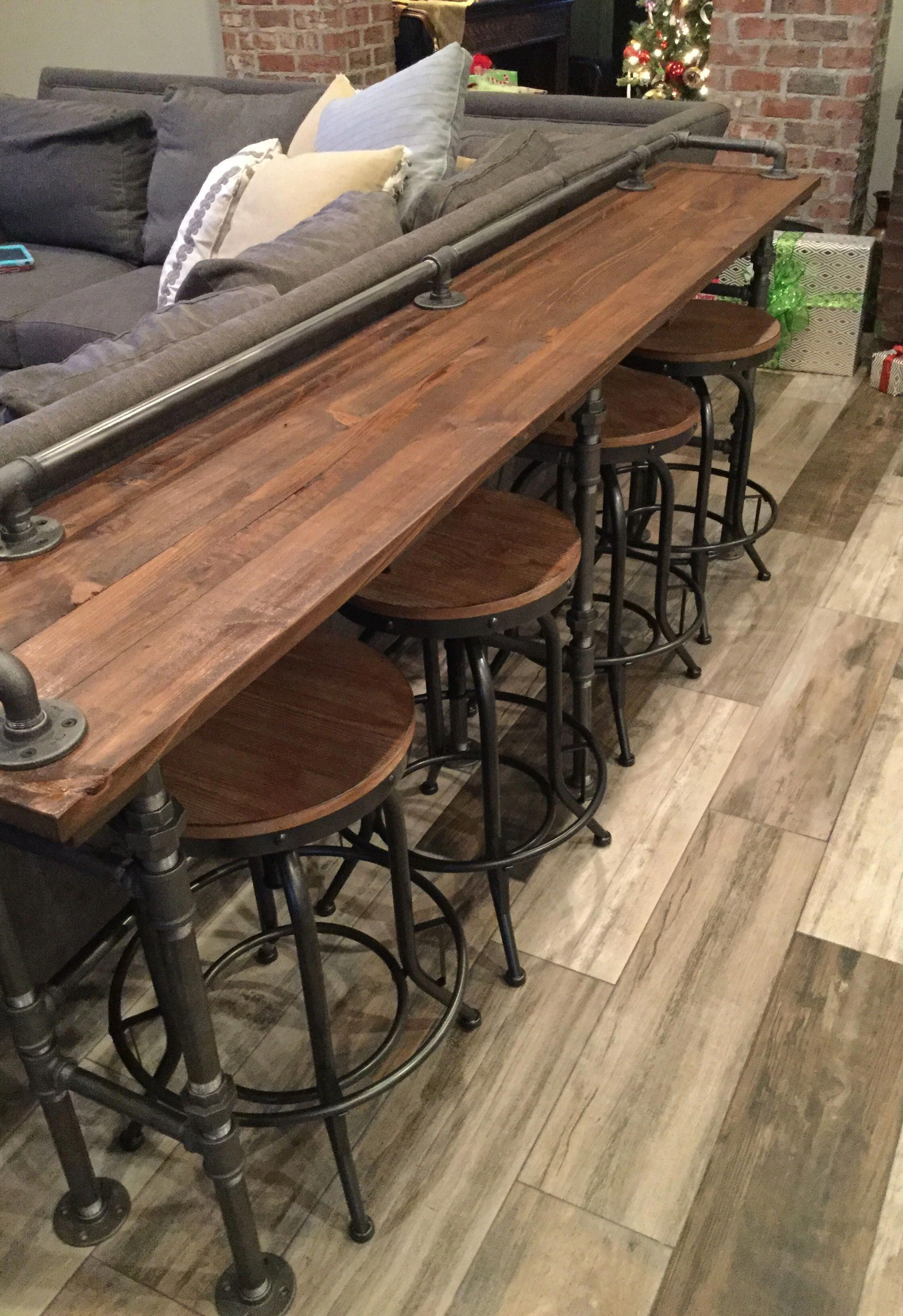 perfect reclaimed cypress sofa table woodplanscountertops wood rh pinterest com