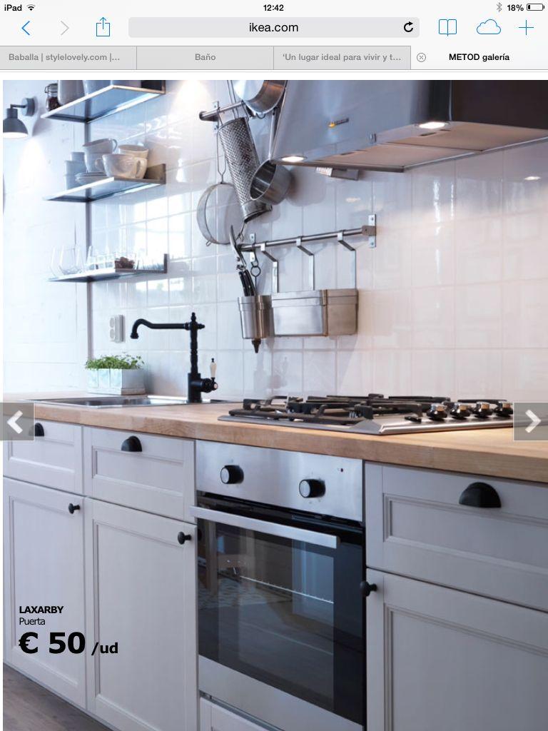 Cocina ikea - puertas. Azulejos | Cocina | Cocina ikea, Cocinas ...