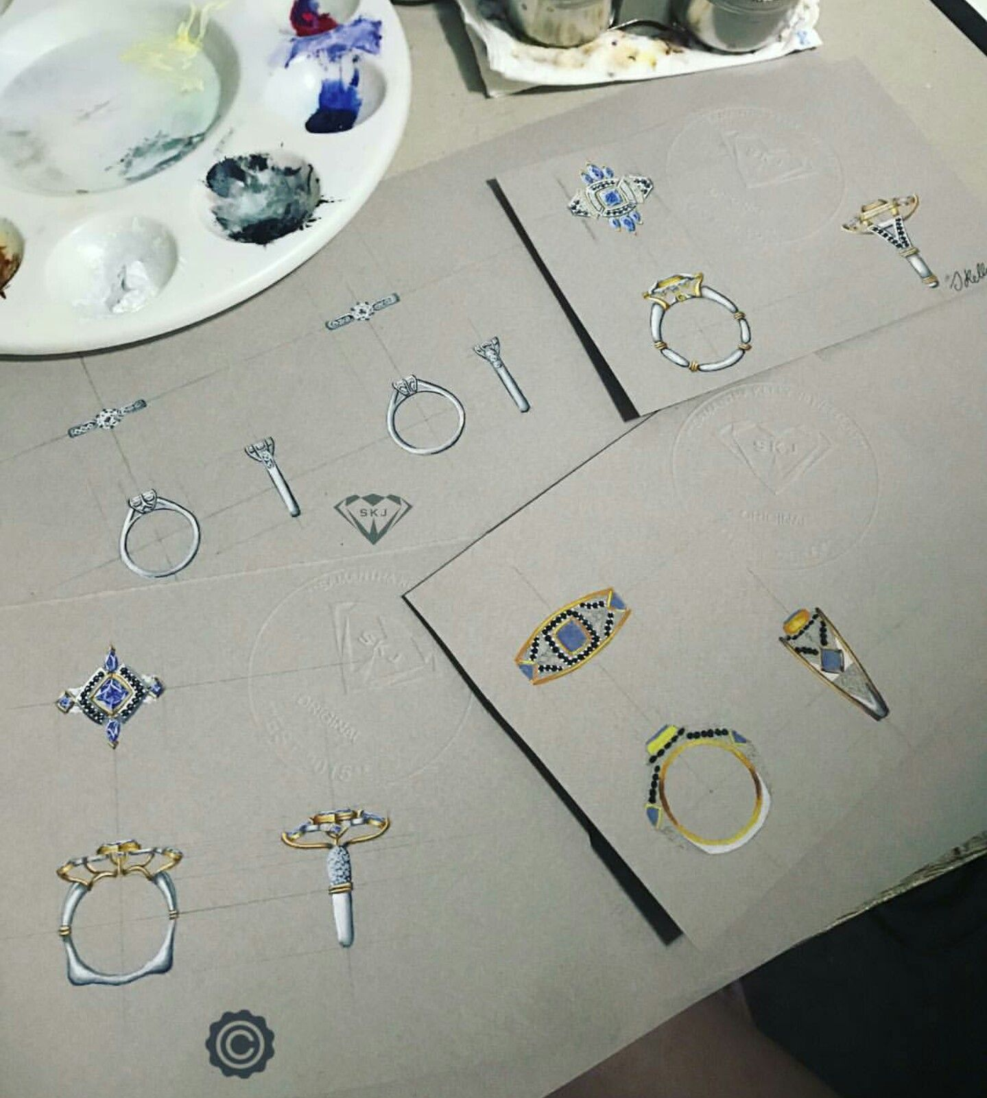 Pin by Milova Maria on JEWELRY Sketches and Designs Pinterest