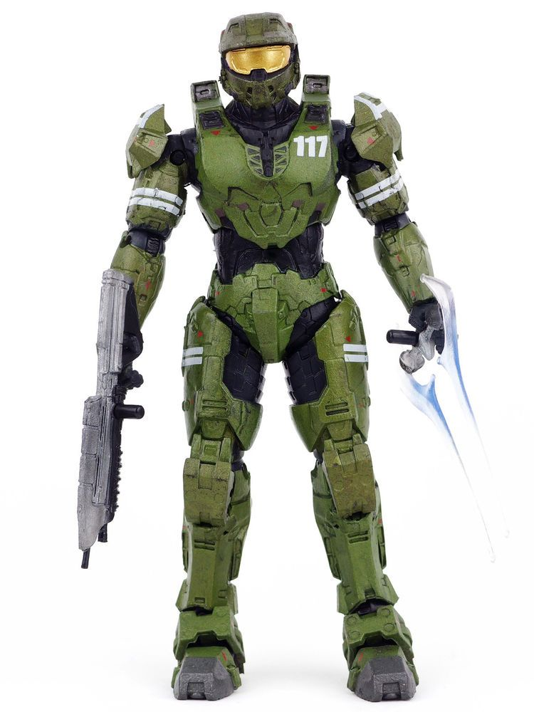 Halo Legends The Package Master Chief Spartan 117 Action Figure