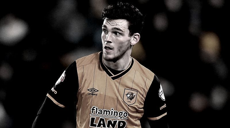 Hull City Left-back Andy Robertson In Advanced