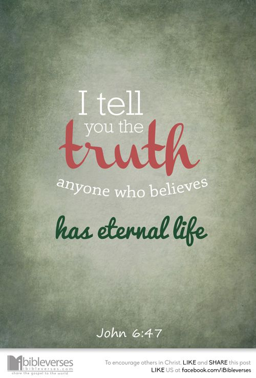 Verily, verily, I say unto you, He that believeth on me ...