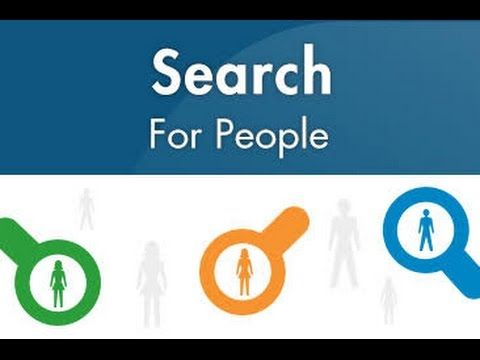 search for people on the internet
