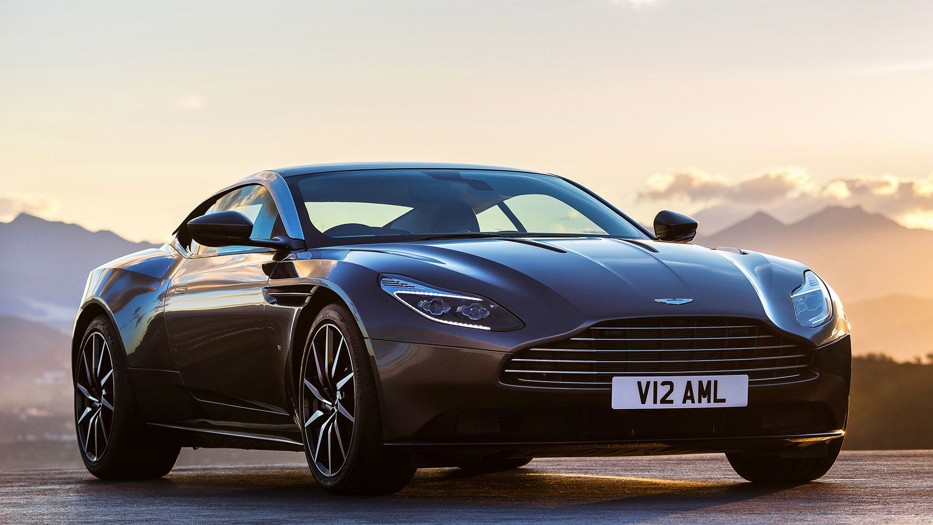 Brand New 2017 Aston Martin Db11 Front Side View 2 Gallery Aston Martin Db11 Aston Martin New Aston Martin