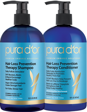 Pura D Or Hair Loss Prevention Therapy Shampoo Healing Conditioner