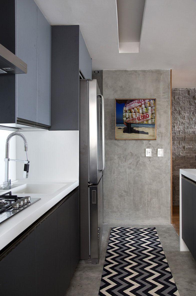 Apartamento neutro e descolado no Rio de Janeiro | Cozinha ...