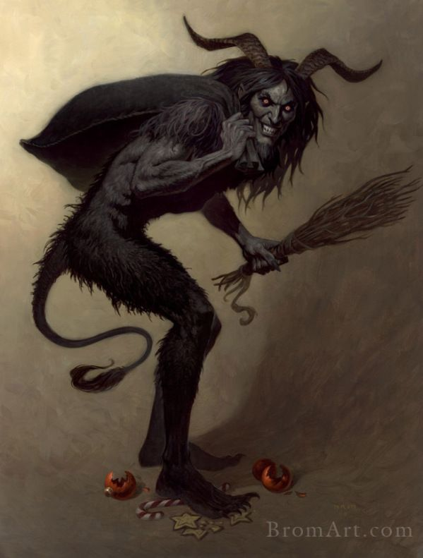Meet Krampus The Evil German Santa Claus Dark Fantasy Book Dark Fantasy Krampus