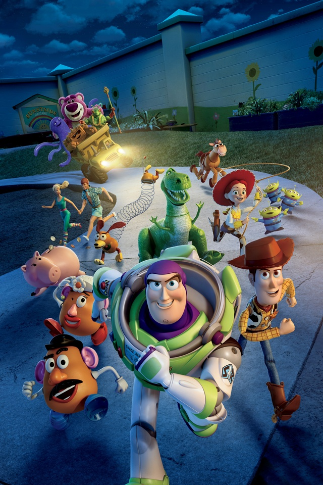 Toy Story 3 Iphone 4s Wallpaper Download Iphone Wallpapers