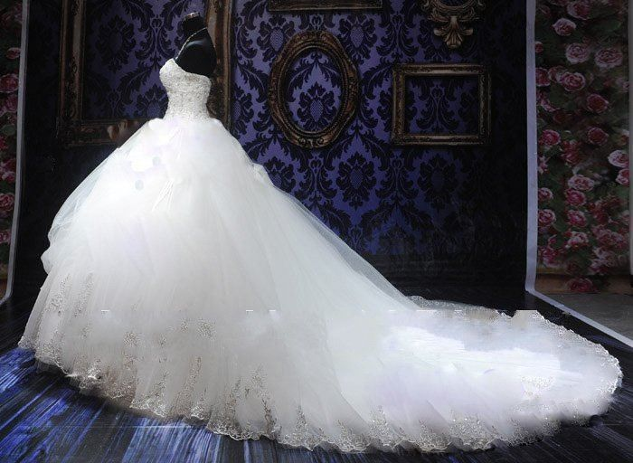 puffy wedding gown | big poofy wedding dresses | Pinterest ...