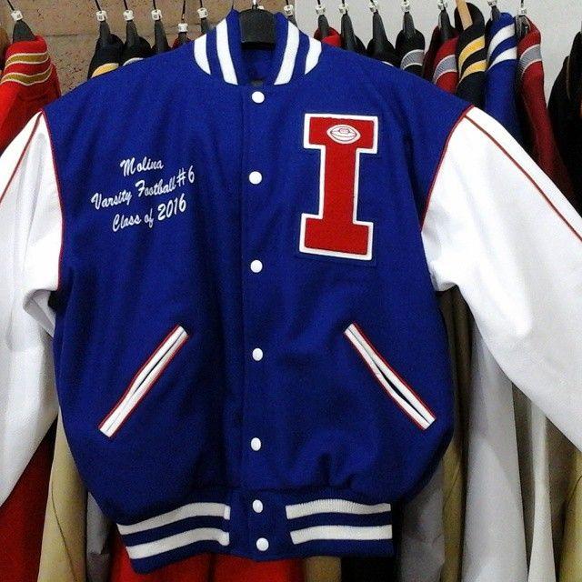 Independence High School Varsity Jacket Varsity Letterman Jackets Letterman Jacket Ideas Jackets