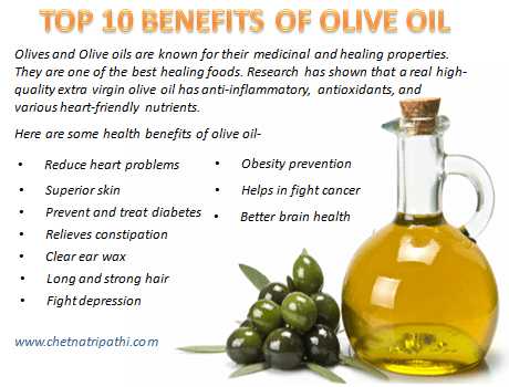 TOP 10 BENEFITS OF OLIVE OIL   Health & Beauty   Health