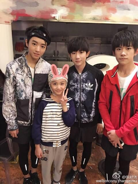 #TFBOYS as tagged in weibo