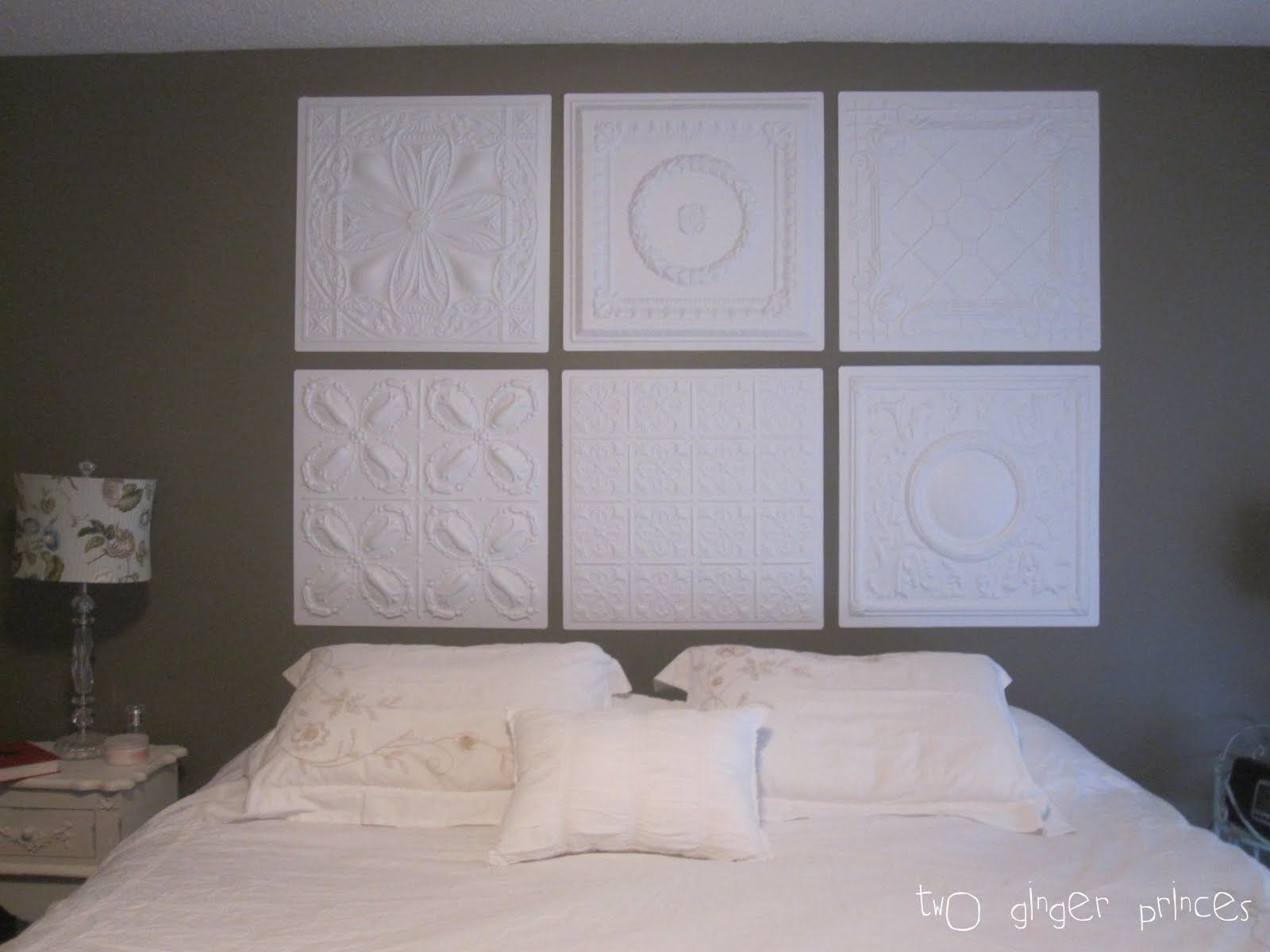 Ceiling Tile Headboard Ceiling Tile Headboard Diy Headboard