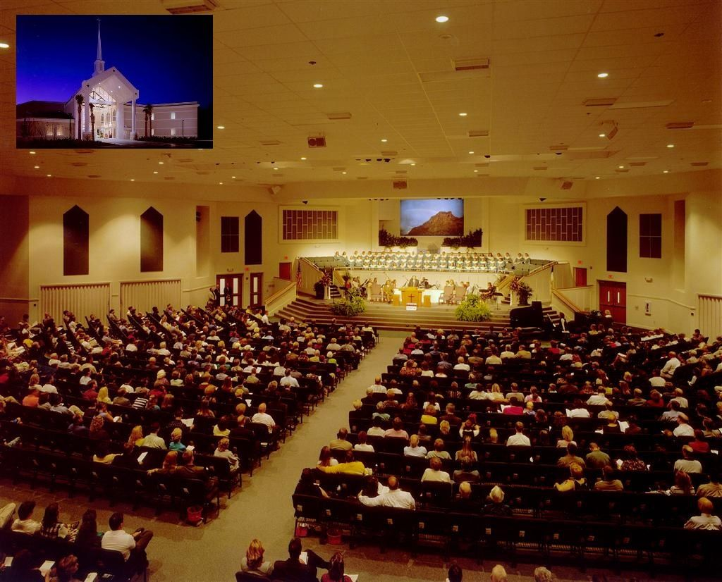 Westside Baptist Church's Worship Center {} Gainesville, Florida