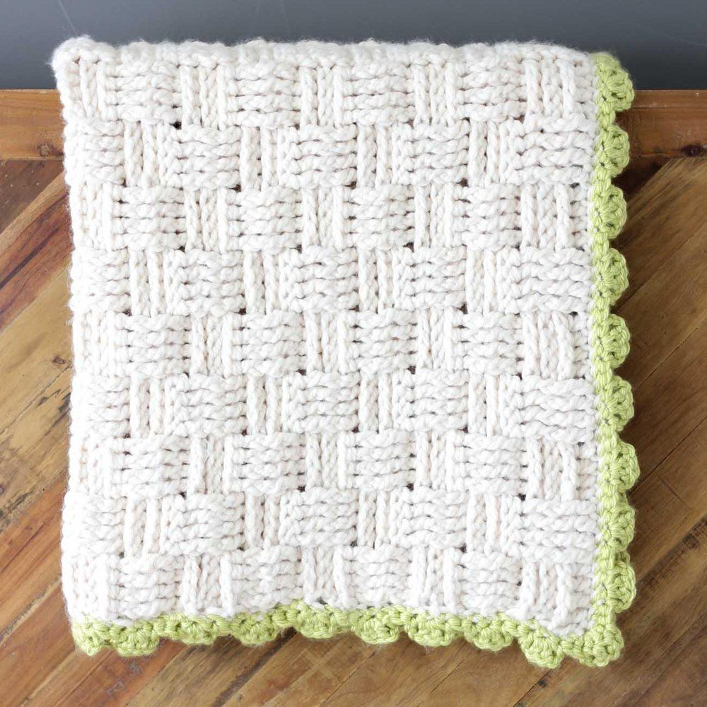 Squishy yarn heaven this crochet basket weave blanket pattern is this free crochet basket weave blanket pattern is blooming with texture and makes a perfect lapghan sized afghan made with lion brand wool ease thick bankloansurffo Gallery