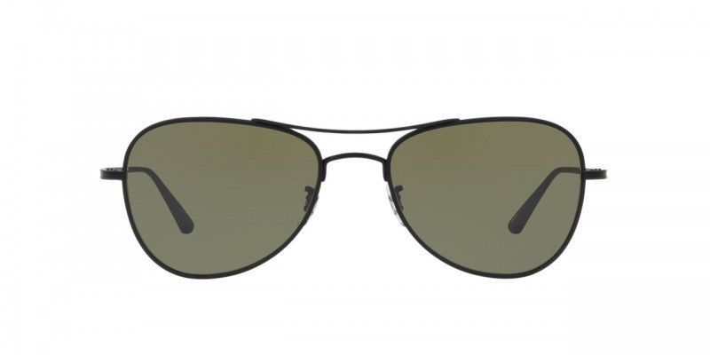 80d8f86a2ad OLIVER PEOPLES The Row Executive Suite Matte Black G-15 Sunglasses OV1198ST   OliverPeoples  Pilot