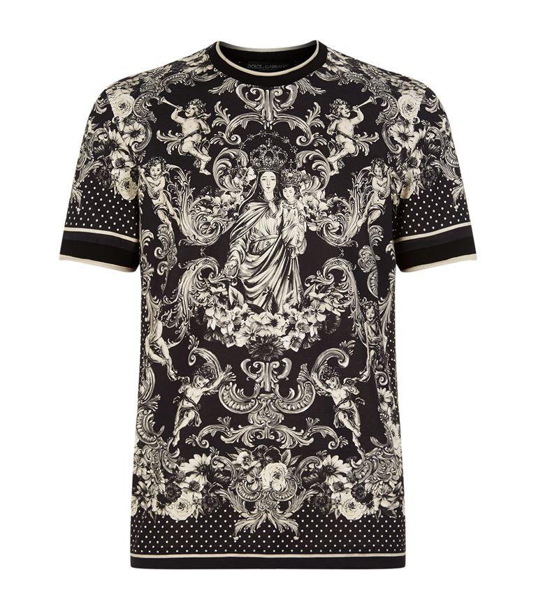 d7a63aaff521 DOLCE & GABBANA Madonna T-Shirt. #dolcegabbana #cloth # | fashion ...