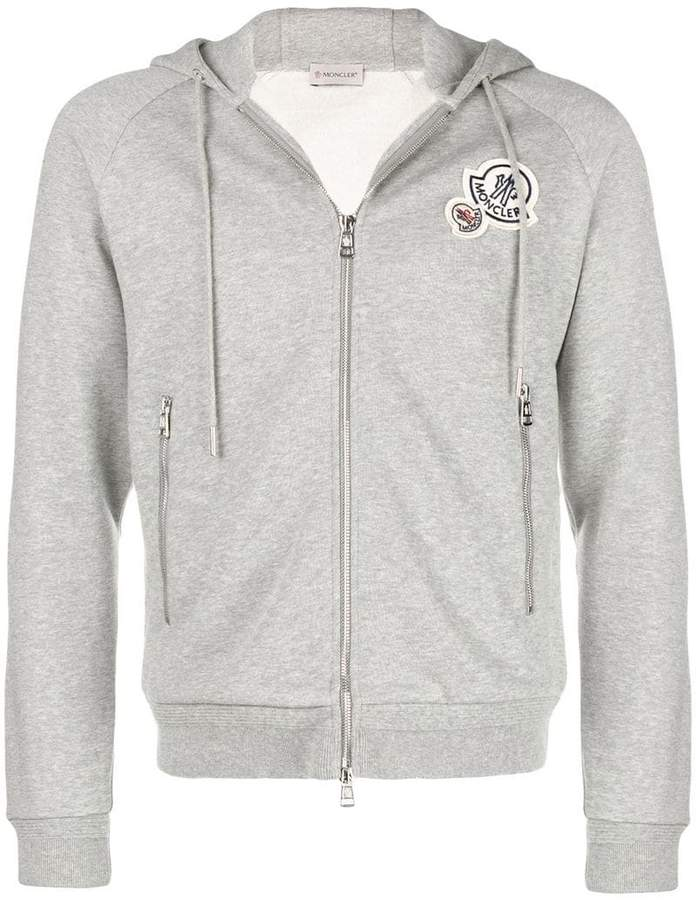f3260a574 Moncler zip front hoodie | Products | Moncler, Jackets, Vest jacket