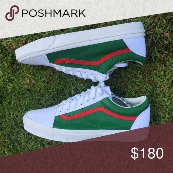 Gucci Vans Custom X Shoes Sneakers